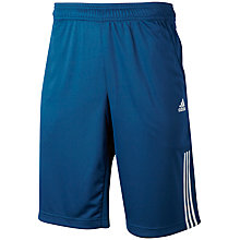 Buy Adidas Tennis Bermuda Shorts, Blue/White Online at johnlewis.com