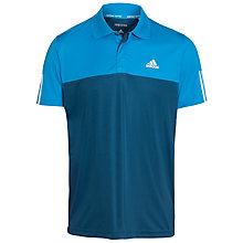 Buy Adidas Tennis Response Polo Shirt, Blue Online at johnlewis.com