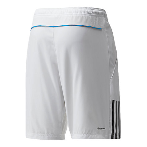 Buy Adidas Tennis Response Shorts, White Online at johnlewis.com