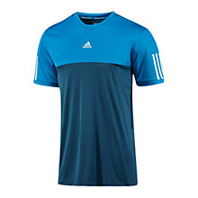 Buy Adidas Tennis Response T-Shirt, Blue Online at johnlewis.com