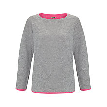Buy Jigsaw Double Faced Knitted Jumper, Mel Grey Online at johnlewis.com