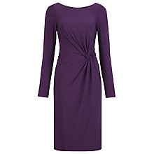 Buy Alexon Embellished Back Dress, Purple Online at johnlewis.com
