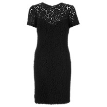 Buy Jigsaw Lace Dress, Black Online at johnlewis.com