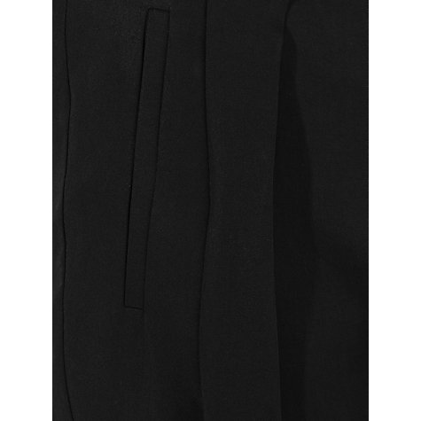 Buy Kin by John Lewis Cropped Wrap Trousers, Black Online at johnlewis.com