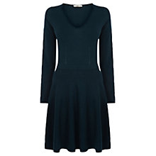 Buy Oasis Long-Sleeve Fit and Flare Dress Online at johnlewis.com