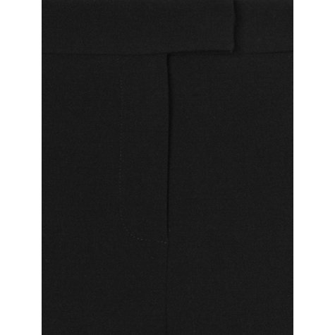 Buy Phase Eight Briony Bootcut Trousers, Black Online at johnlewis.com