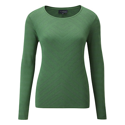 Buy Viyella Chevron Textured Jumper, Amazon Online at johnlewis.com