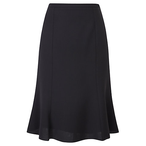 Buy Viyella Rochette Skirt, Black Online at johnlewis.com