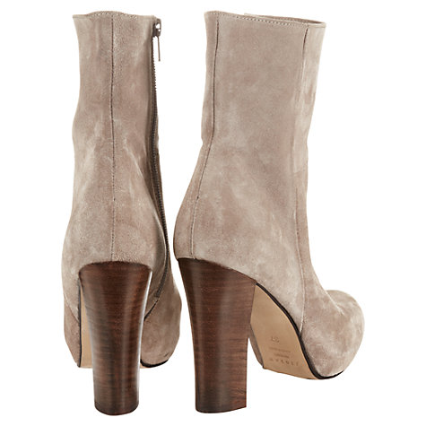 Buy Jigsaw Highgate Leather Platform Shoe Boots Online at johnlewis.com