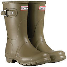 Buy Hunter Women's Original Short Wellington Boots Online at johnlewis.com