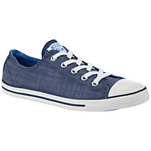 Buy Converse Chuck Taylor All Star Dainty Denim Low-Top Trainers Online at johnlewis.com