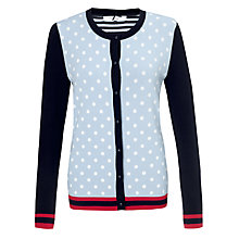 Buy COLLECTION by John Lewis Jade Long Sleeve Spot Cardigan Online at johnlewis.com