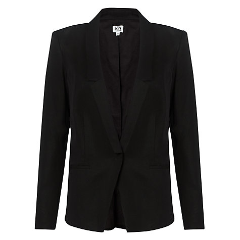 Buy Kin by John Lewis Tuxedo Jacket, Black Online at johnlewis.com