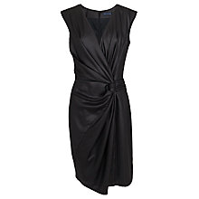 Buy French Connection Liquid Twist Dress, Black Online at johnlewis.com