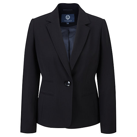 Buy Viyella Rochette Jacket, Black Online at johnlewis.com