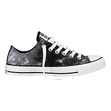 Buy Converse Chuck Taylor All Star Tie Dye Low Trainers, Black / White Online at johnlewis.com