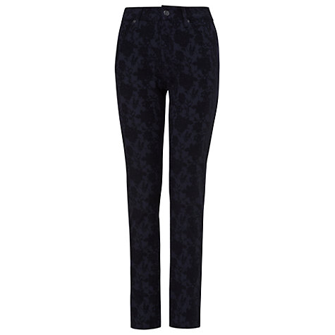 Buy Phase Eight Lexi Lace Jeans, Black/Navy Online at johnlewis.com