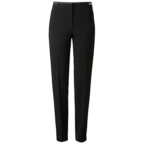 Buy Gérard Darel Straight Leg Trousers, Black Online at johnlewis.com