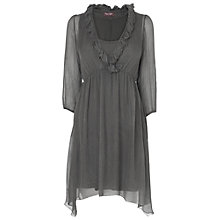 Buy Phase Eight Made in Italy Felicia Silk Dress, Charcoal Online at johnlewis.com