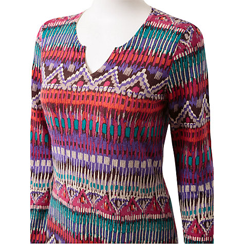 Buy East Alma Print Tunic Dress, Multi Online at johnlewis.com
