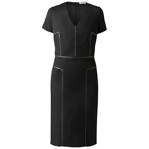 Buy Gérard Darel Panelled Dress, Black Online at johnlewis.com