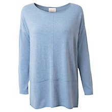 Buy East Seam Detail Jumper, Softshale Online at johnlewis.com