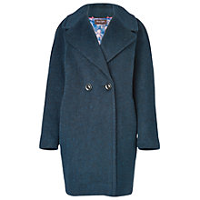 Buy Phase Eight Jade Brushed Coat, Teal Online at johnlewis.com