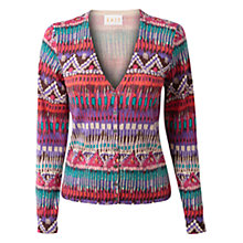 Buy East Alma Print Cardigan, Multi Online at johnlewis.com