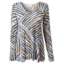 Buy East Jessica Stripe Jumper, Ivory Online at johnlewis.com
