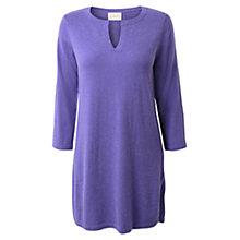 Buy East Knitted Kurta, Purple Online at johnlewis.com