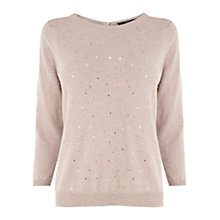 Buy Coast Arcs Knit Jumper, Natural Online at johnlewis.com