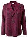 Buy East Paisley Jacquard Jacket, Berry, 8 Online at johnlewis.com