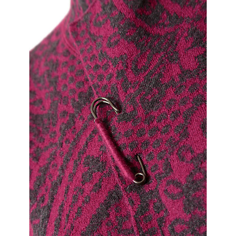 Buy East Paisley Jacquard Jacket, Berry Online at johnlewis.com