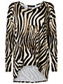 Rise Animal Print Bella Top, Animal