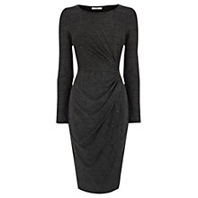 Buy Oasis Amber Dress, Metallic Pewter Online at johnlewis.com