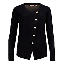 Buy Ted Baker Natural Kingdom Cardigan, Black Online at johnlewis.com