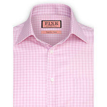 Buy Thomas Pink Brananaburgh Check XL Sleeve Shirt, Pink Online at johnlewis.com