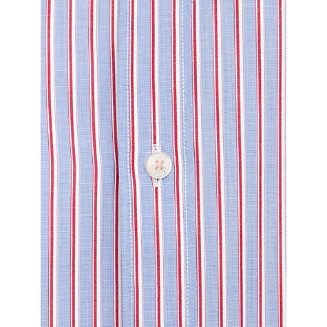 Buy Thomas Pink Grogan Stripe Shirt, Blue/Red Online at johnlewis.com