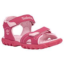 Buy Timberland Splashtown Girls' Sandals Online at johnlewis.com