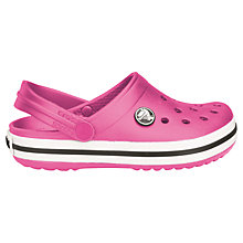 Buy Crocs Kids' Crocband Sandals Online at johnlewis.com