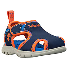 Buy Timberland Closed Toe Toddlers' Sandals, Blue Online at johnlewis.com