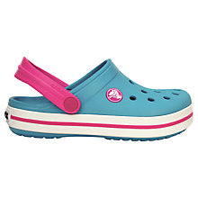 Buy Crocs Surf Neon Sandals, Fuchsia/Blue Online at johnlewis.com