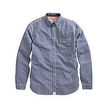Buy Joules The Hewney Gingham Check Shirt, Navy Online at johnlewis.com