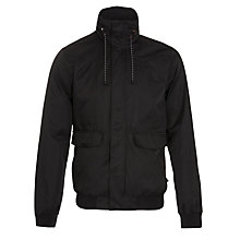 Buy Levi's Windbomber Hood Jacket, Black Online at johnlewis.com