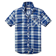 Buy Hilfiger Denim Spark Check Short Sleeve Shirt Online at johnlewis.com