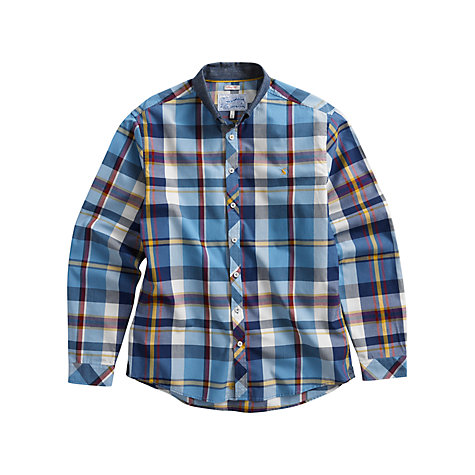Buy Joules Lambert Multi Check Long Sleeve Shirt, Blue/Multi Online at johnlewis.com