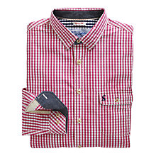 Buy Joules The Hewney Gingham Check Shirt, Pink Online at johnlewis.com