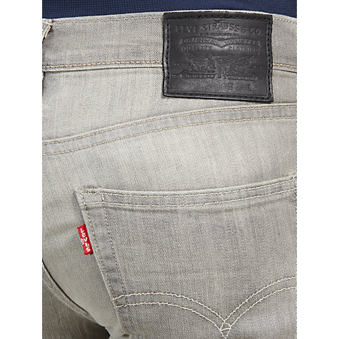 Buy Levi's 511 Slim Fit Jeans, Gray Day Online at johnlewis.com