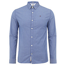 Buy Tommy Hilfiger Thomas Striped Shirt, Monaco Blue Online at johnlewis.com