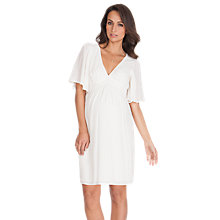 Buy Séraphine Christie Kaftan Dress, Ivory Online at johnlewis.com